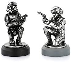 Rebel Trooper & Stormtrooper Pawn Chess Piece Pair