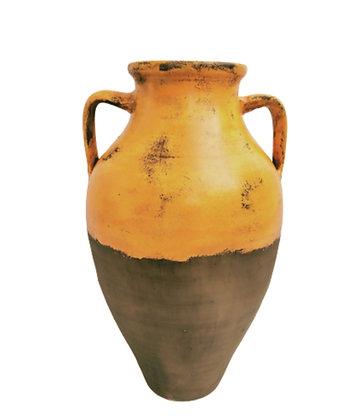Amphora Orange Vase Clay Pot 65cm
