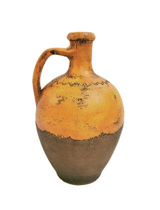 Amphora Orange Vase Clay Pot 30cm