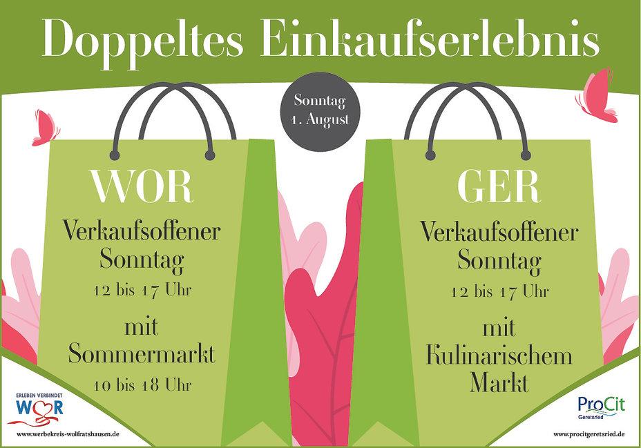 Verkaufsoffener Sonntag Geretsried Lokale Einkaufen Geretsried 01 august 2021 Einzelhandel