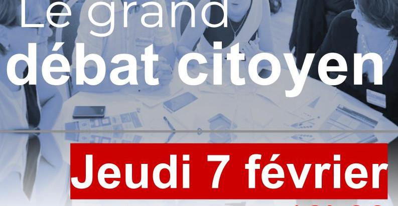 LA TOURNEE DES IDEES : 4 Grands Débats-Citoyens + 1 Débat-Surprise