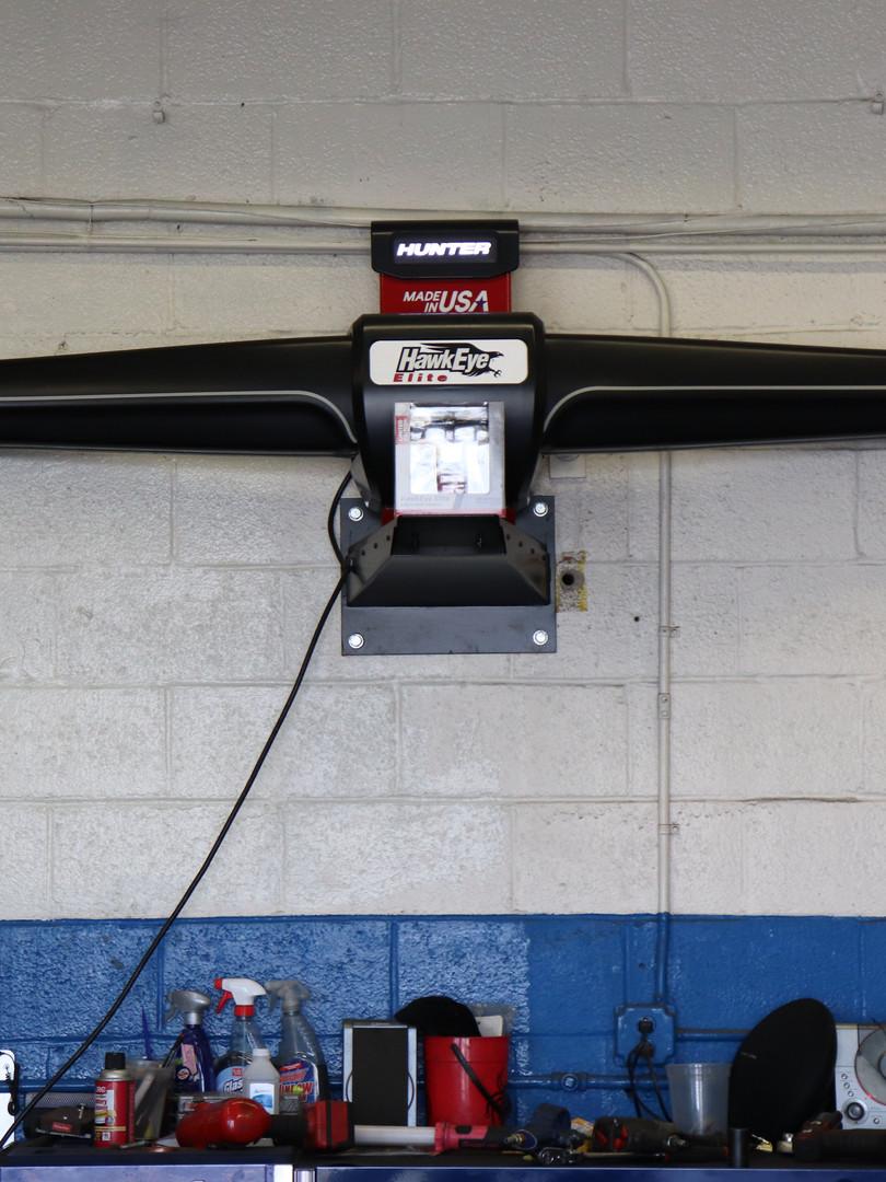 Hunter Hawkeye Laser Alignment Machine