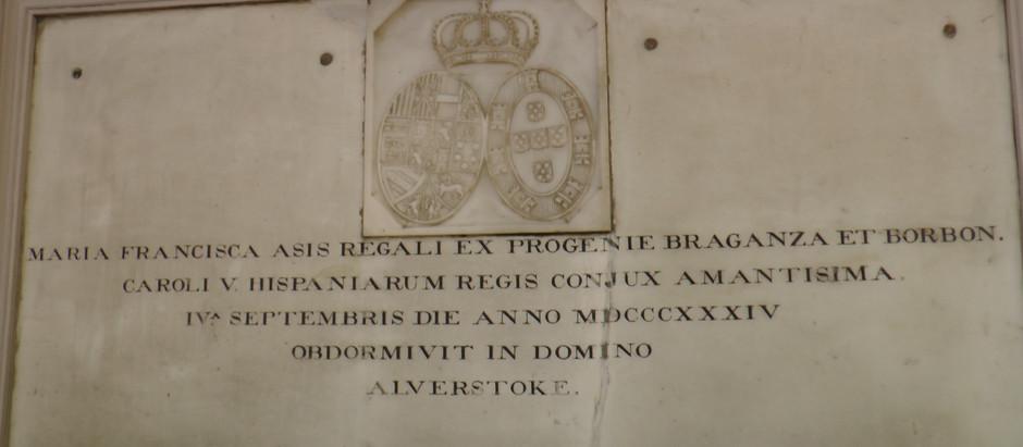 Carlist Queen Maria Francisca of Spain