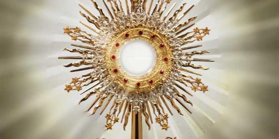 Solemn High Mass: Feast of Corpus Christi