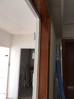 Installation du bâti blindé