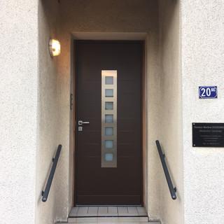 Pose d'une porte d'entrée Fichet - 78000