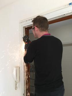 Préparation du bâti