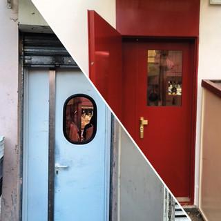 Remplacement par une double porte blindée - 75019