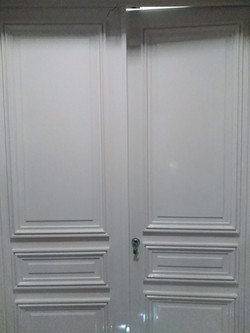 Double porte blindée - 75007