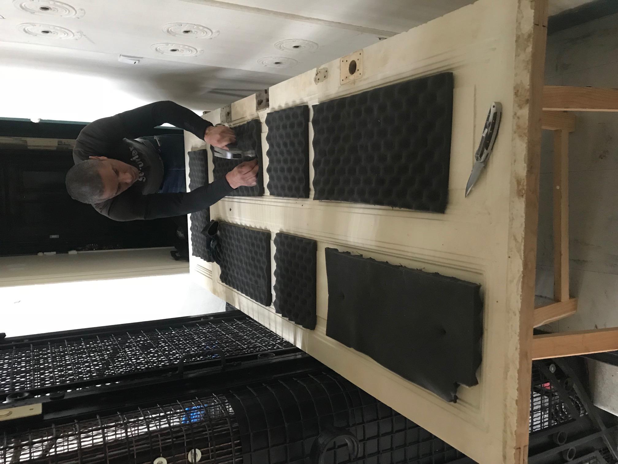 Préparation du châssis pour blindage