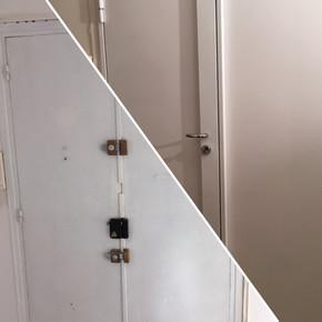 Blindage sur porte double-vantaux - 92063
