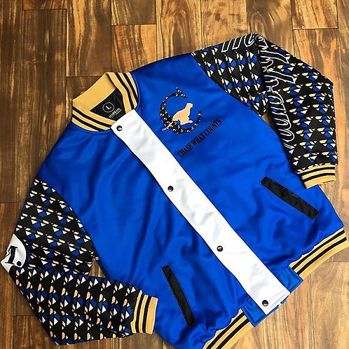 BLUE & BLACK JACKET