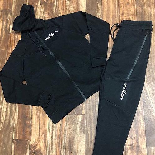 Black/Black Sweatsuit