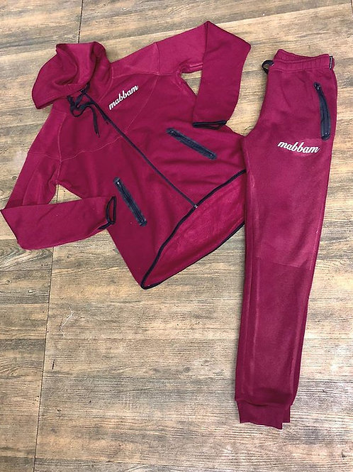 Womens Fleece Jogger Set
