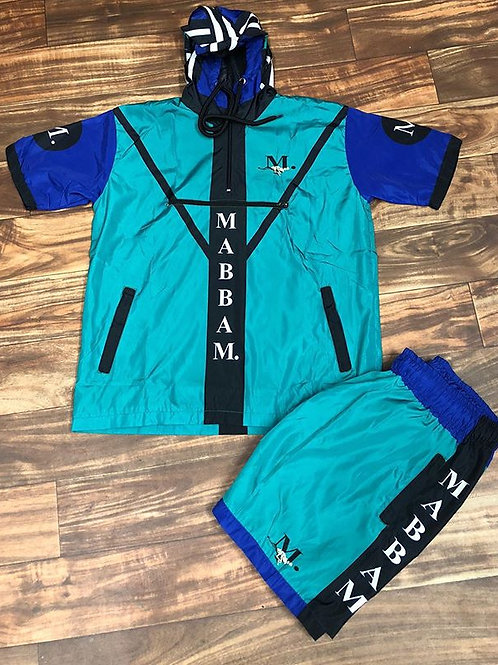 MENS 19 Green/Blue WB SET