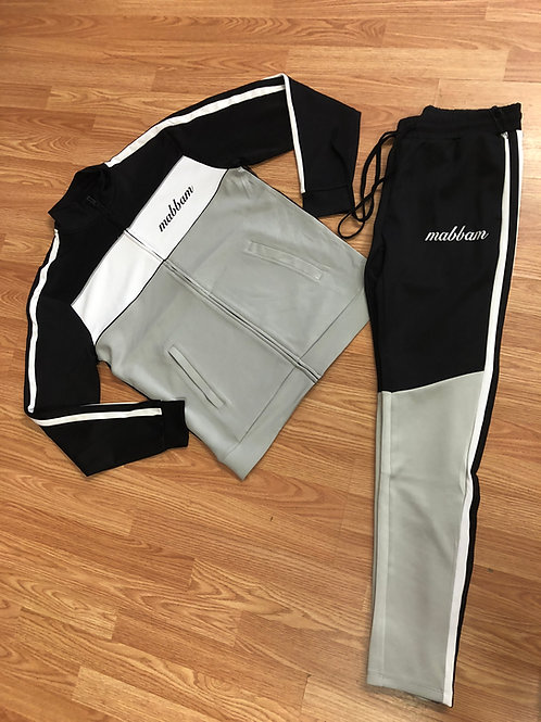 3 Tone Grey/White/Black