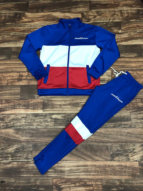 BLUE/RED/WHITE Sweatsuit