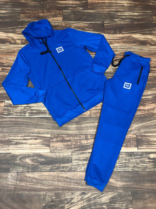 ROYAL BLUE / BLACK Sweatsuits