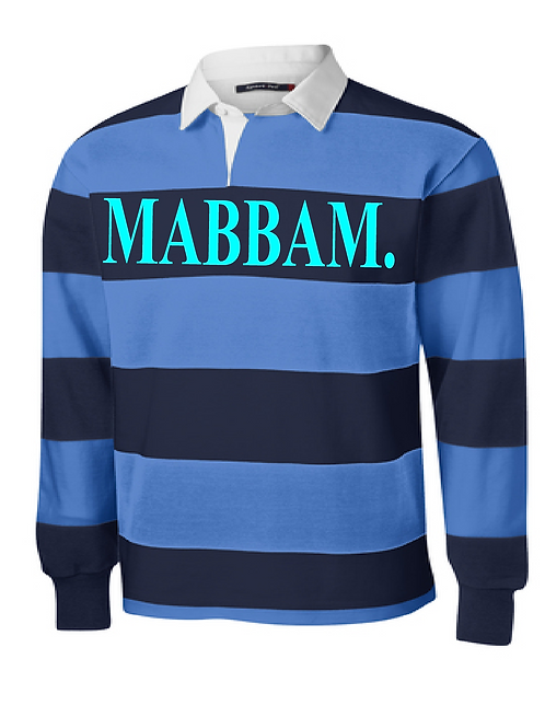 Navy / Carolina Blue Striped Collar Shirt