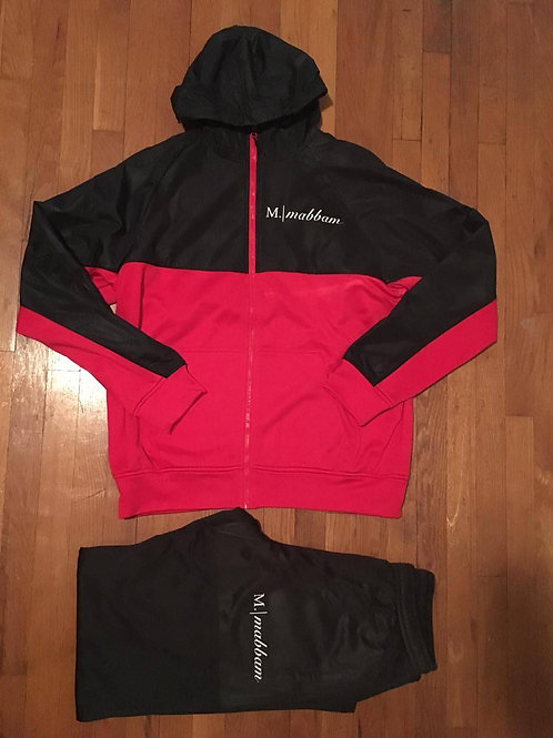 Red I Black Sweatsuit