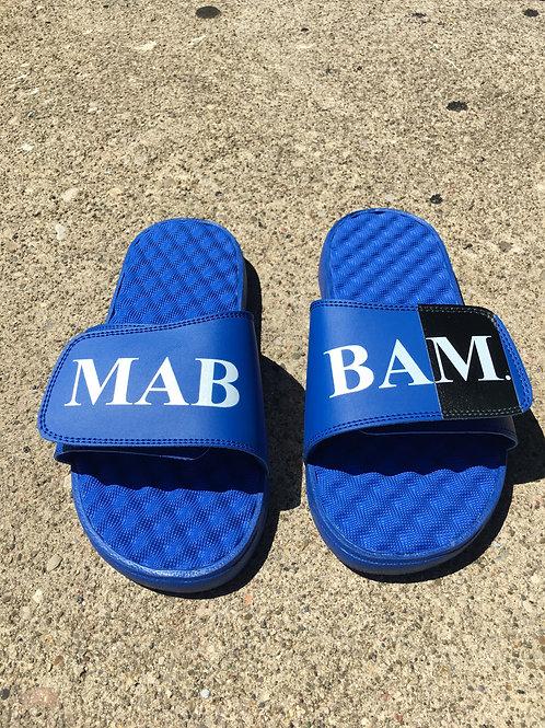 Royal Blue Slides