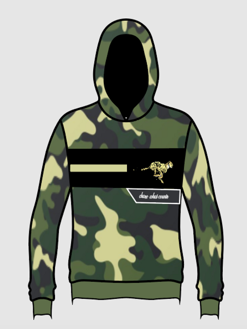 CAMO CHASE WHAT COUNTS HOODIE