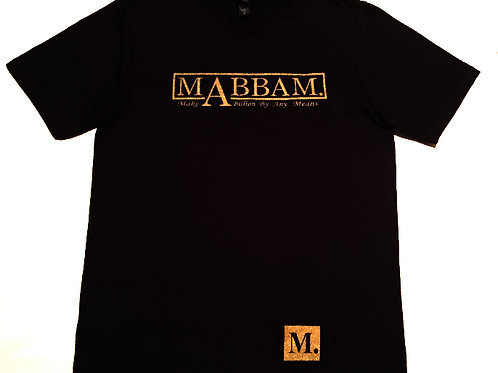 MENS - BLACK  MAKE A BILLION BY ANY MEANS