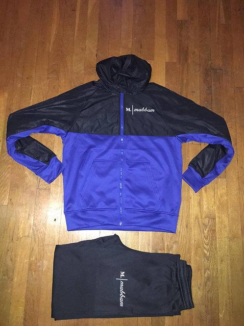 Blue I Black Sweatsuit
