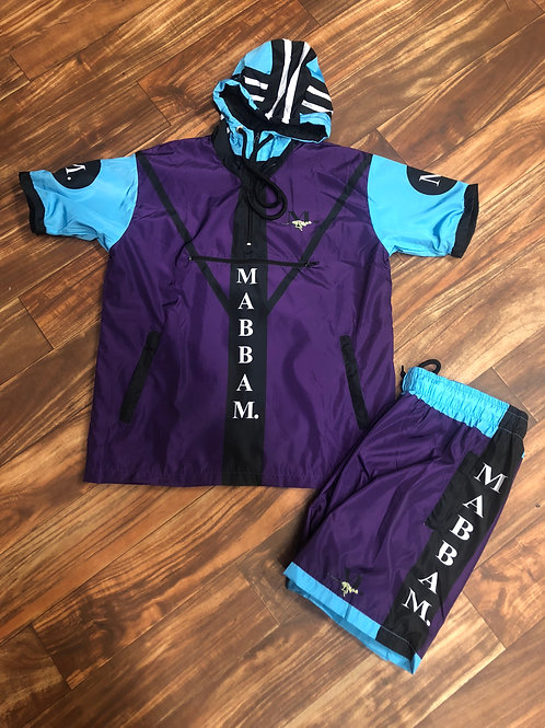 MENS 19 Purple/Skyblue WB SET