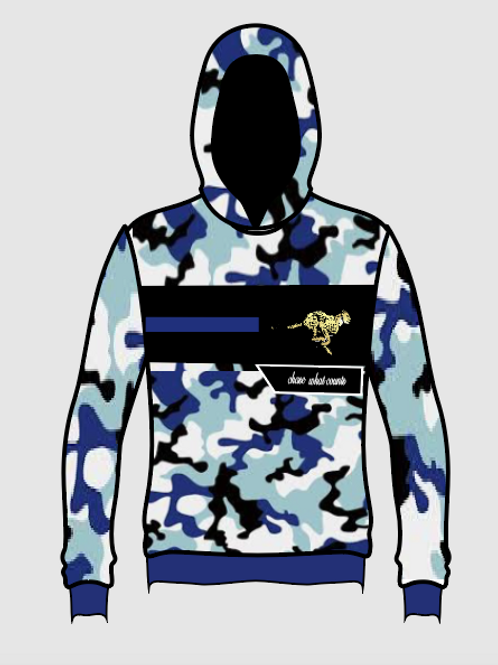 FROST CAMO CHASE WHAT COUNTS HOODIE