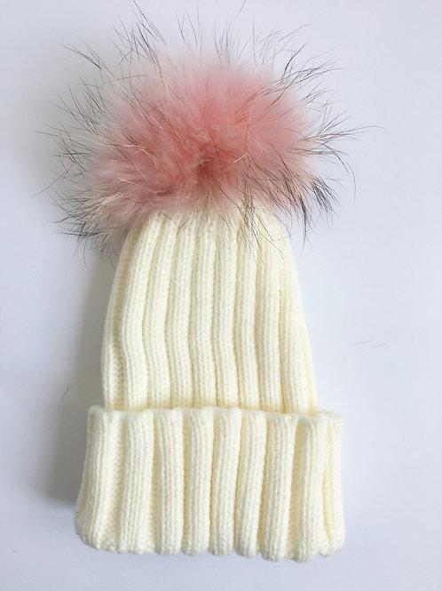 'Just Fur Kids' Pom Hat