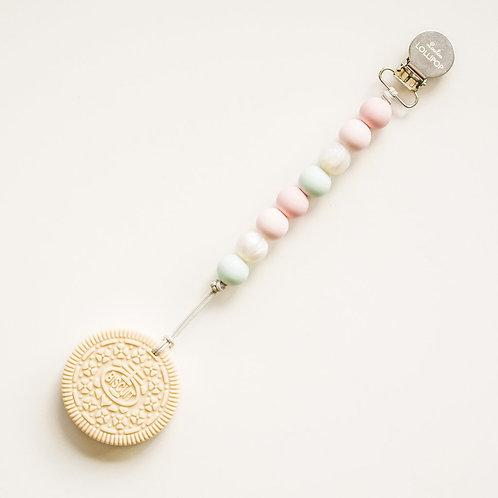 Cream Cookie Teether