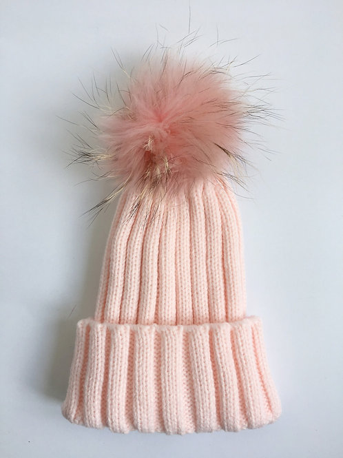 'Just Fur Kids' Pom Hat