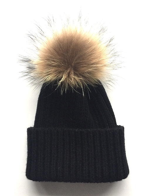 Fur House Pom Hat