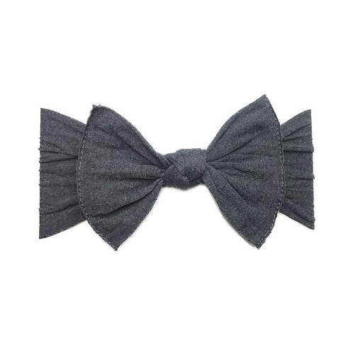 The Patterned Knot - Heather Charcoal