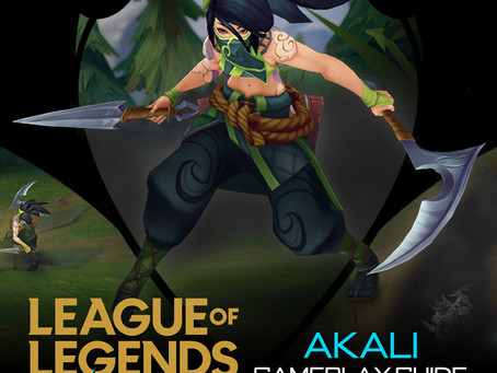 Akali : The Rogue Assassin - Back Story & Gameplay Suggestion