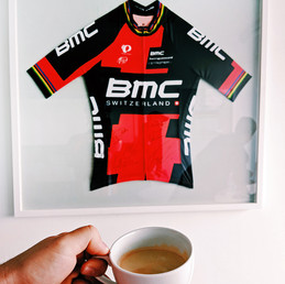 "Visite du ""BMC Racing Team Service Course"""