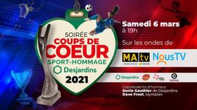 Soirée Coups de coeur | Sport-Hommage Desjardins 2021