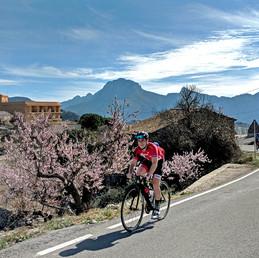 Entraînement dans la région de Serra del Ferrer, Espagne.