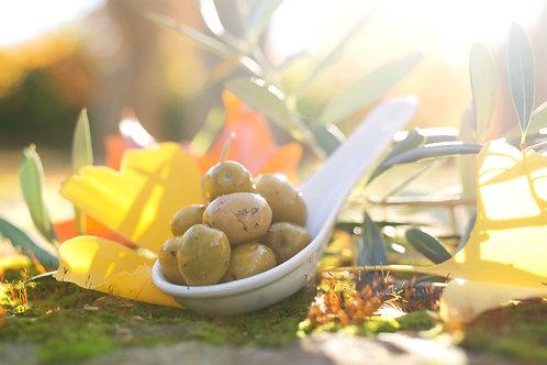 Olives Vertes au Fenouil