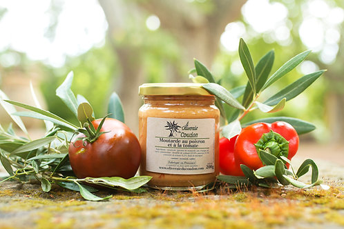 Moutarde au Poivron et à la Tomate