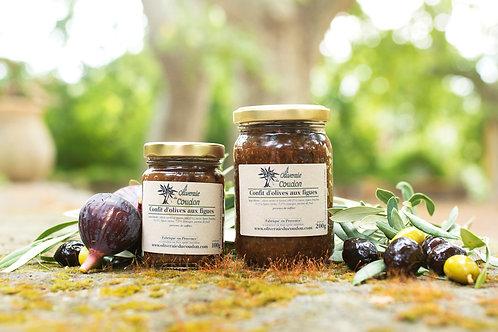 Confit d'olives aux figues