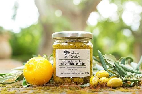 Olivade Verte aux Citrons Confits