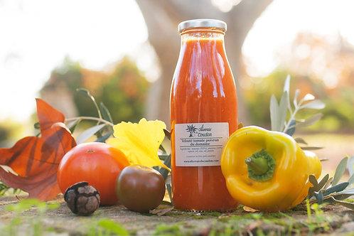 Velouté de Tomates et Poivrons du Domaine