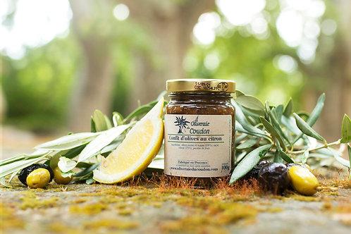 Confit d'olives au citron