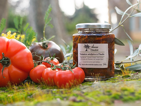 Tomates Séchées a l'huile d'olive