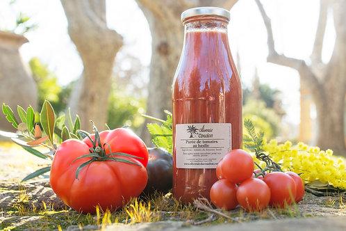 Purée de Tomates au Basilic