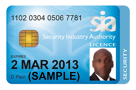 Sample SIA License