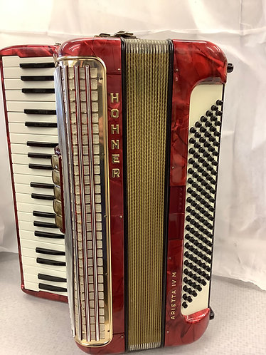Hohner Arieta IV m 120 Bass accordion