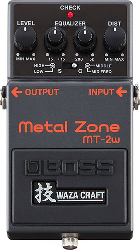 BOSS Metal Zone Waza craft